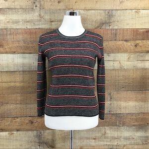 Pendleton Womens Stripe Multicolor Sweater Size XL